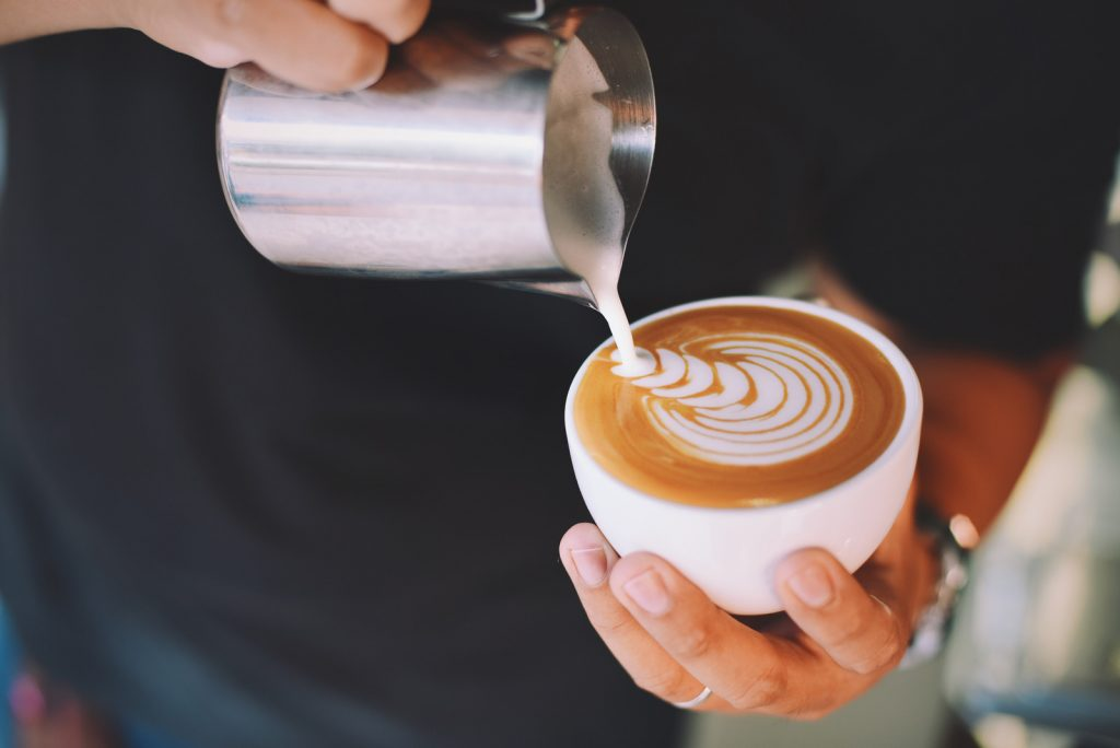 Coffee is poured and makes Melbourne so livable