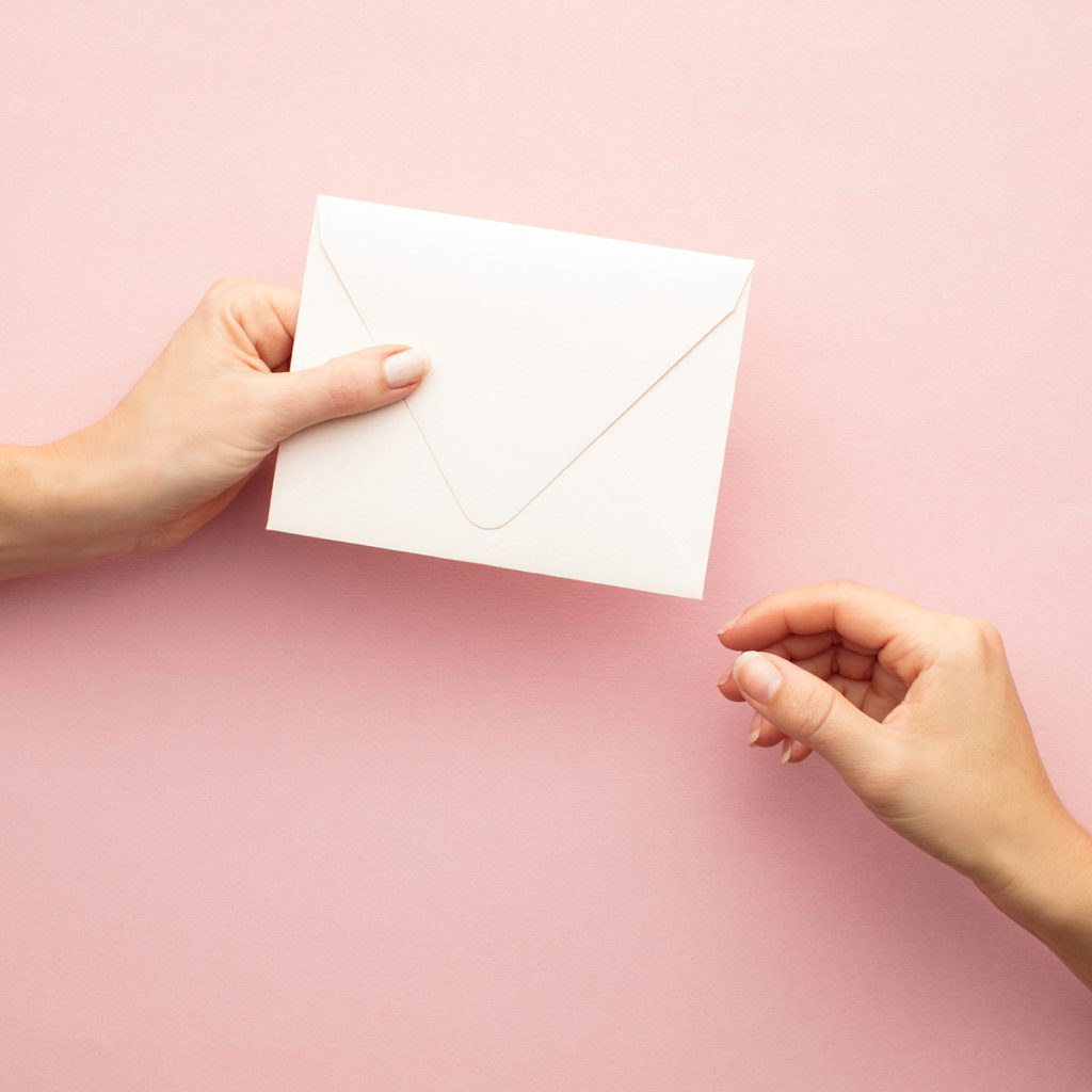 Write a letter during Corona